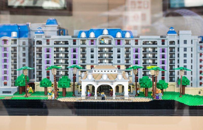 Riviera Resort LEGO Model