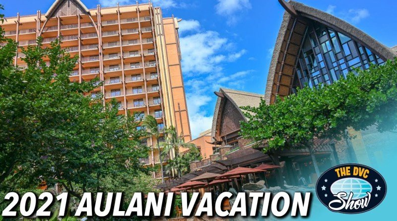 2021 Aulani Experience