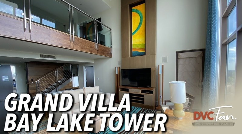 Bay Lake Tower Grand Villa