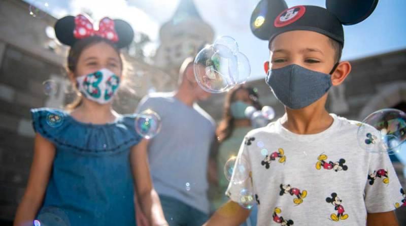 Walt Disney World Mask Policy