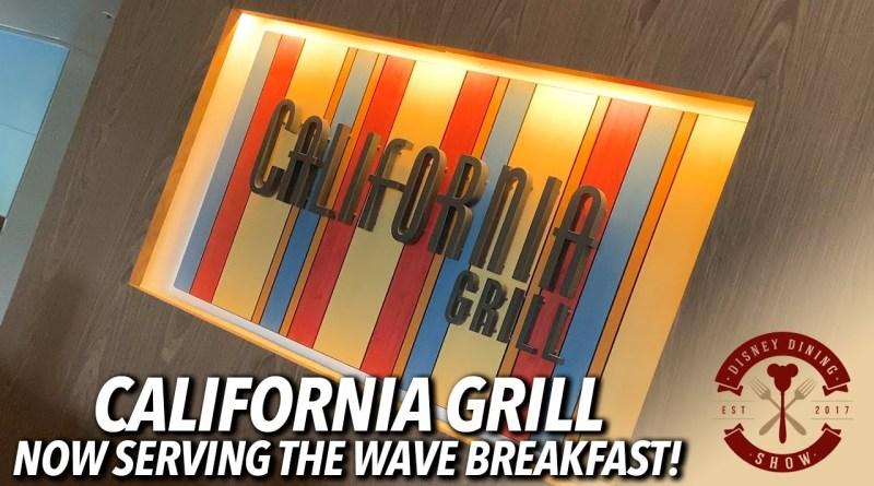 California Grill Wave Breakfast