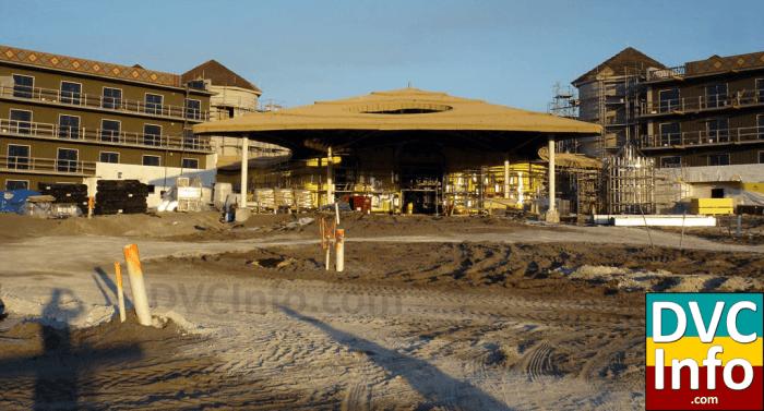 Kidani Village at Animal Kingdom Villas under construction