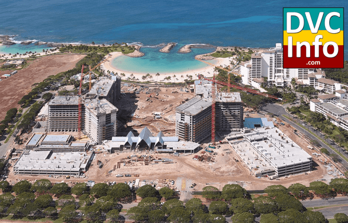 Aulani construction