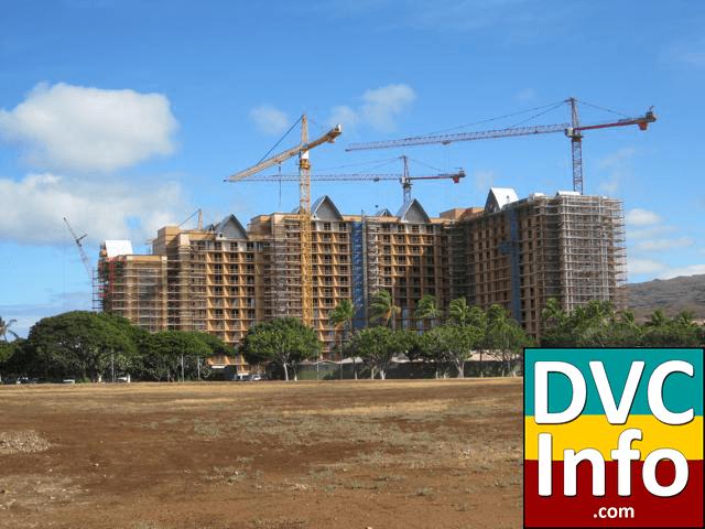 Aulani construction