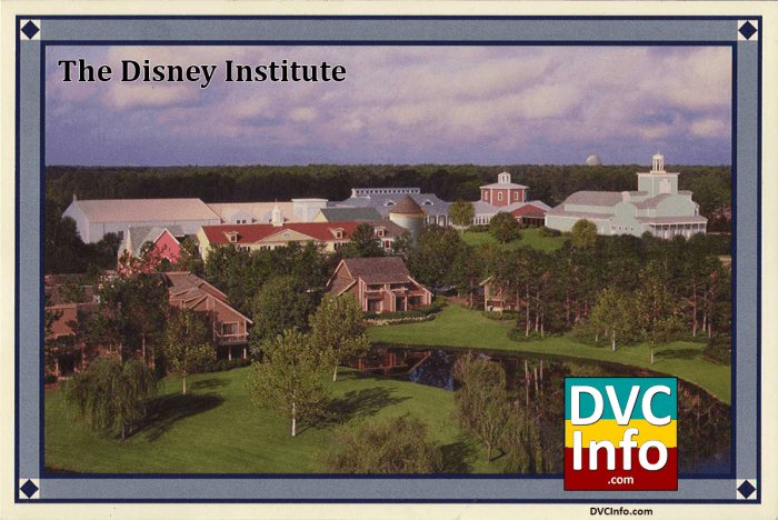 postcard from The Villas at the Disney Institute