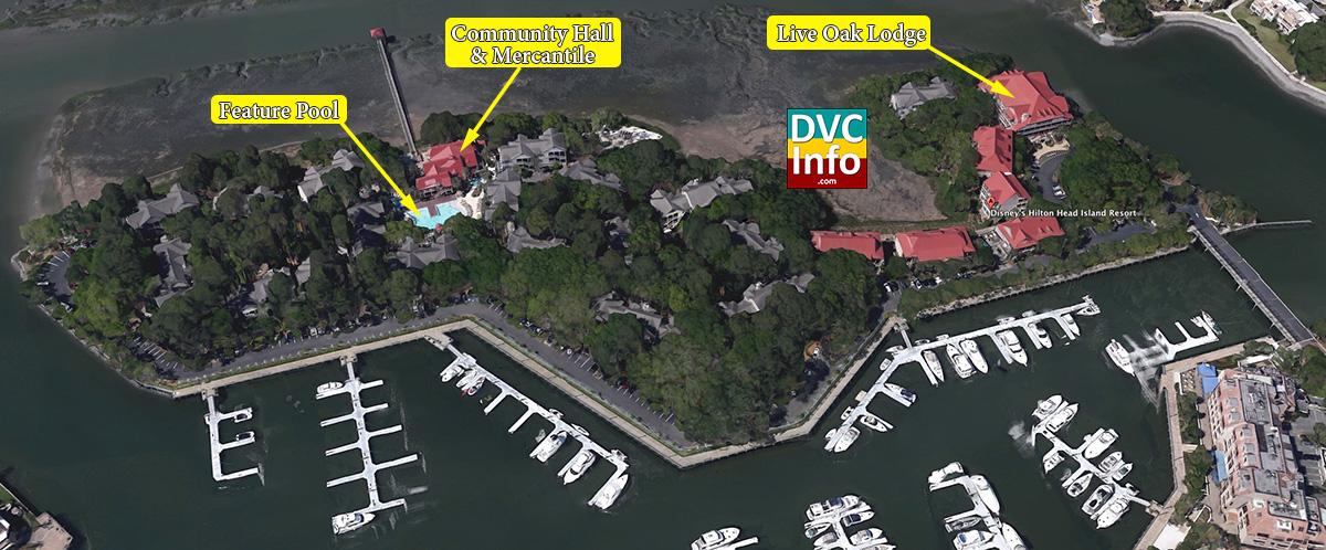 Disneys Hilton Head Island Resort DVCinfo : Satellite HHI from dvcinfo.com size 1200 x 498 jpeg 181kB