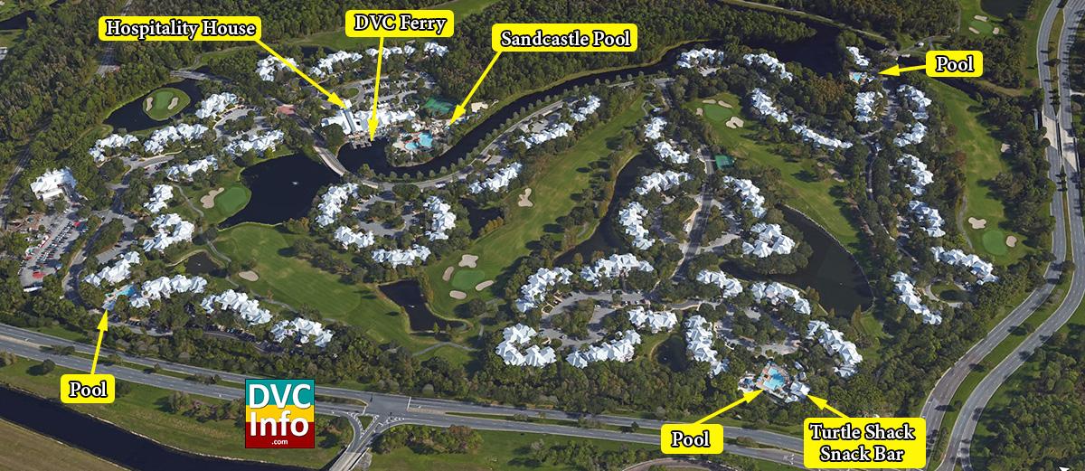 Disneys old key west resort dvcinfo satellite view of disneys old key west resort gumiabroncs Images
