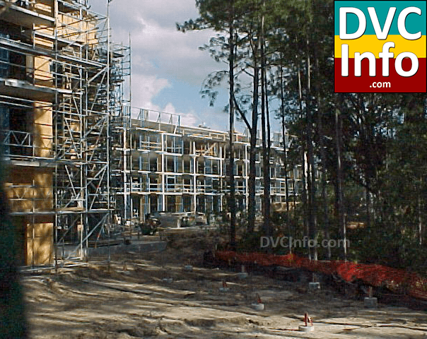 DVC building Villas at Disney's Wilderness Lodge