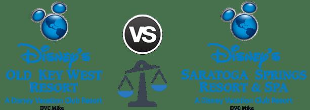 Old Key West vs  Saratoga Springs Resort - DVCinfo