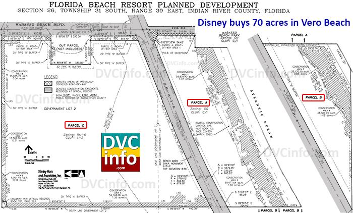 Disney buys 70 acres in Vero Beach 1993