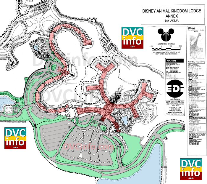 2006 Disney's Animal Kingdom Villas site plan
