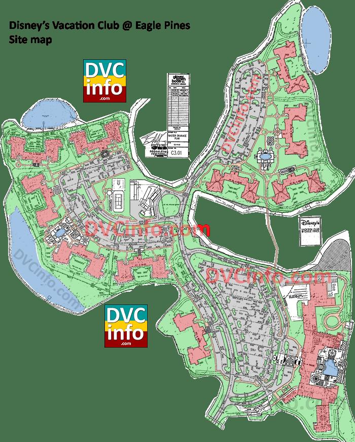 Eagle Pines DVC site plan