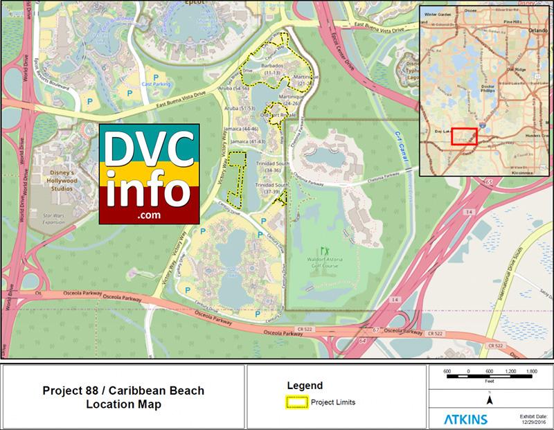 Project 88 DVC at Caribbean Beach