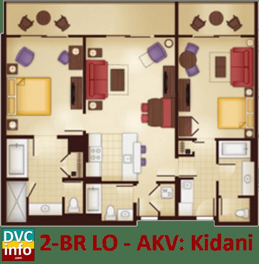 Animal kingdom lodge villas 2 bedroom