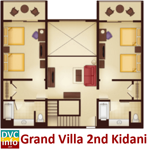 Disney 39 s animal kingdom villas dvcinfo - 3 bedroom grand villa disney animal kingdom ...