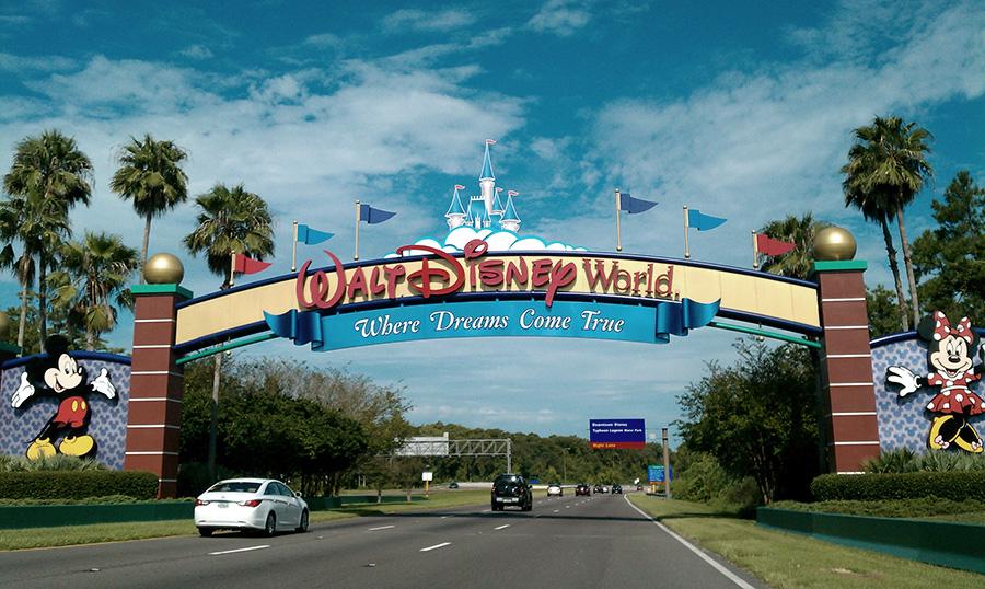 Walt Disney World Entrance