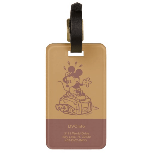 Customizable DVC Luggage Tag