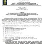 Formasi, Kriteria, Tahap, dan Jadwal Seleksi CPNS Kemenkumham 2019