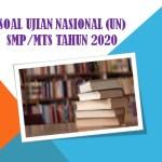 Contoh Soal Ujian Nasional UN SMP MTs Tahun 2020