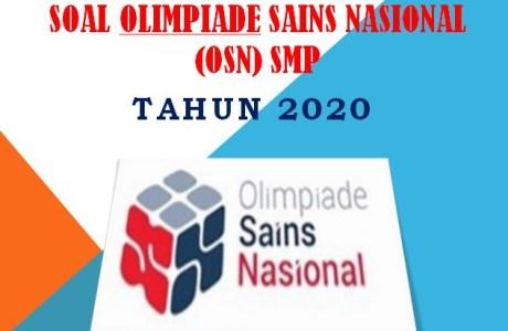 Soal Olimpiade Sains Nasional OSN IPS SMP 2020