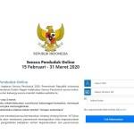 Langkah-langkah Pengisian Sensus Penduduk Online Tahun 2020