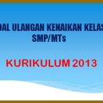 Latihan Soal UKK PAT Penjaskes Kelas 9 SMP MTs Kurikulum 2013