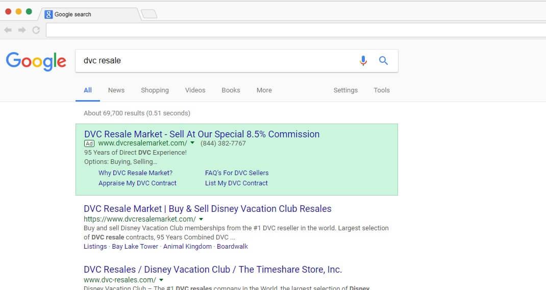 GoogleSearch ‹ DVC Resale Market
