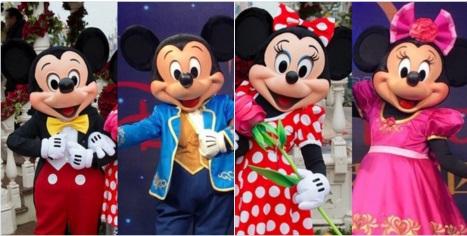 ミッキーとミニーの顔が変わる?SNS上で新しいヘッドが公開される , DVC TOPICS