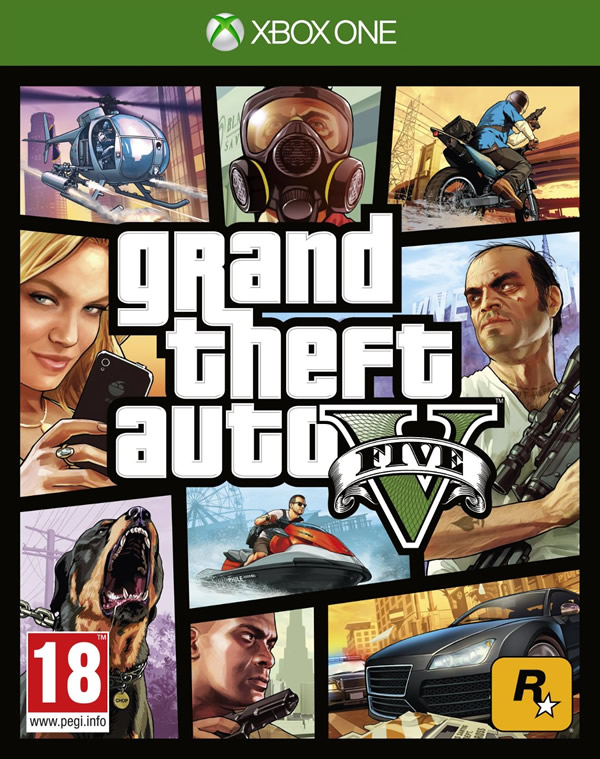 GTA V on Xbox One