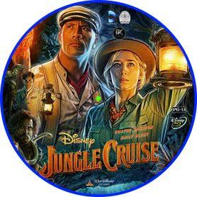 Jungle Cruise (2021) R0 Custom Blu-ray Label - DVDcover.Com
