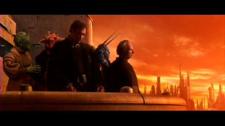 Image result for Attack of the clones ending bail organa