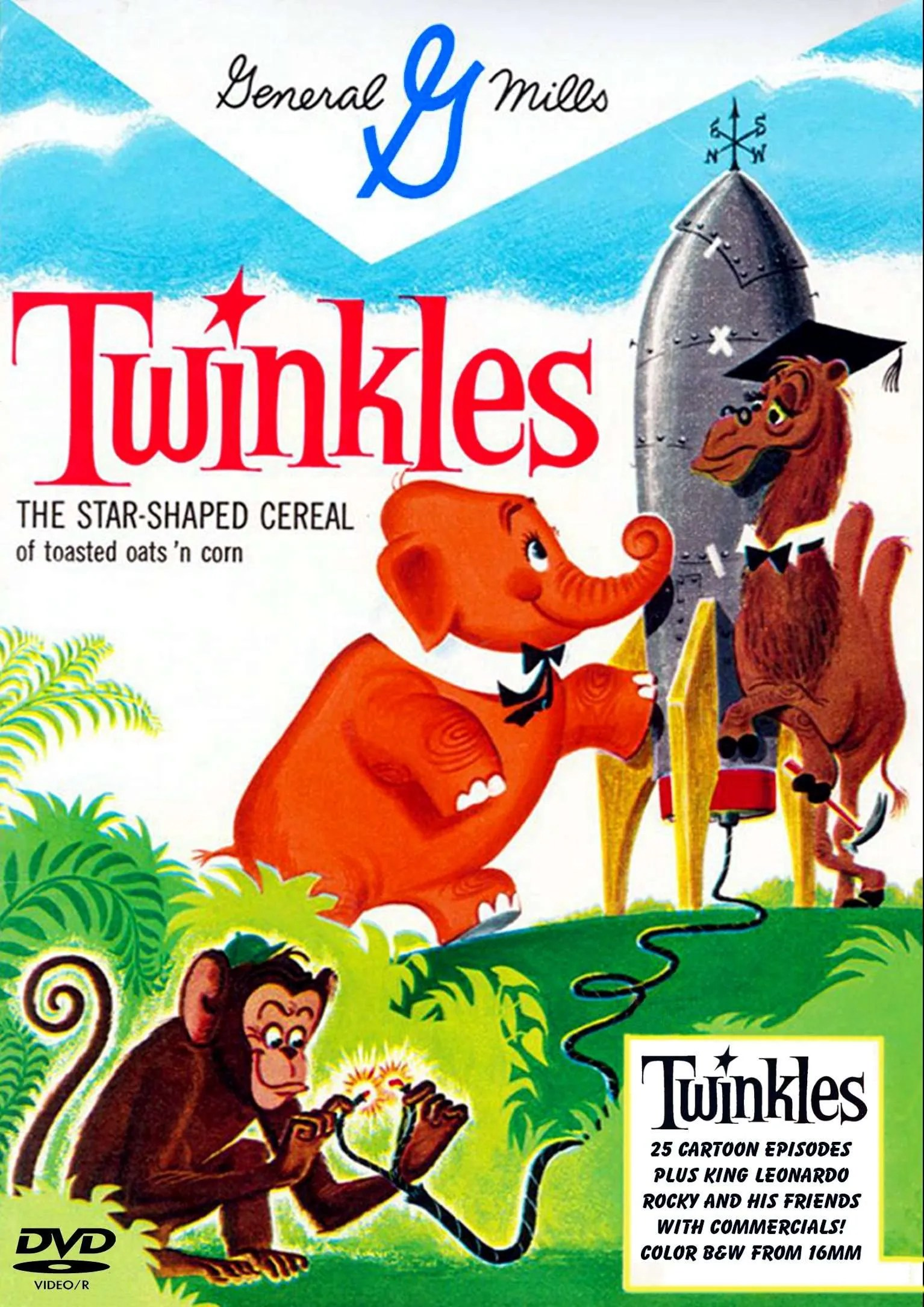 Twinkles Cereal Commercials 1960 Cartoon Elephant With The Rotor Tail Dvd R Dvdrparty