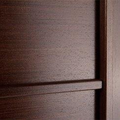 Двери из массива венге