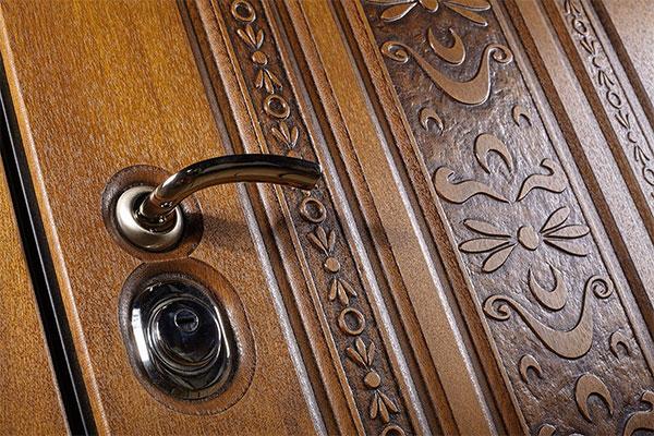 Новые входные металлические двери