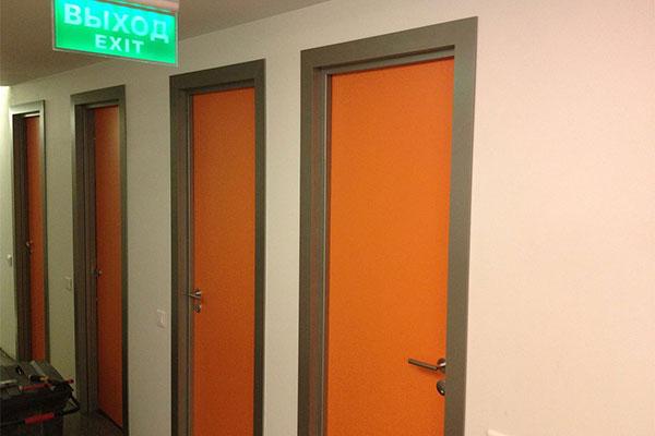 Область применения дверей облицованных пластиком cpl