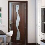 Шпонированная дверь Вираж