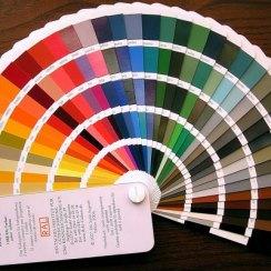Выбор цвета по каталогу RAL