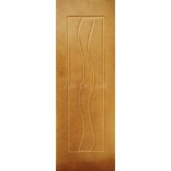 Межкомнатная шпонированная дверь «Вираж» (глухая)
