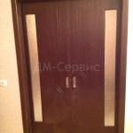 двустворчатая шпонированная дверь