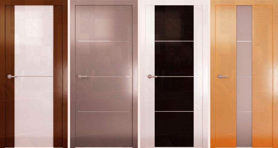 Глянцевые двери Avorio