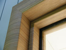Дверной погонаж двери из ПВХ
