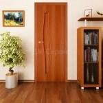 глухая ламинированная дверь