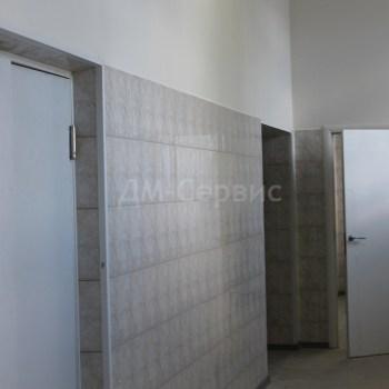 Белые крашенные двери с наличниками