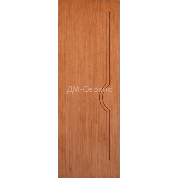 Межкомнатная шпонированная дверь «Молния» (глухая)