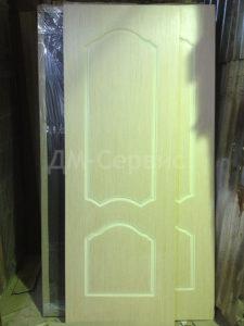 шпонированные двери каролина цвета беленый дуб
