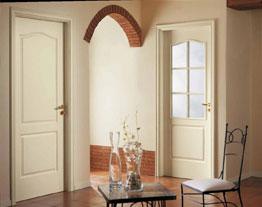Мазонитовые строительные двери