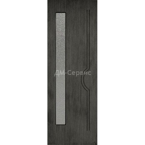 Межкомнатная шпонированная дверь «Молния» (со стеклом)