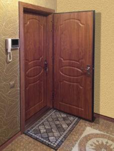 две входных двери в квартире