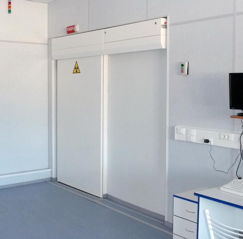 дверь для рентгенкабинета