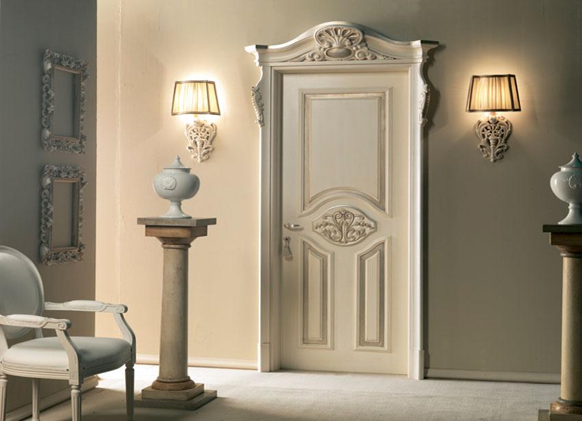 межкомнатная дверь в стиле барокко